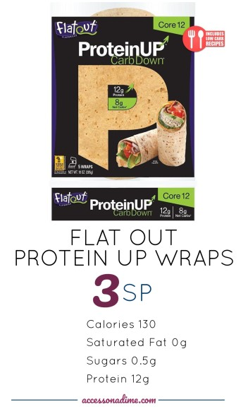FLAT OUT Protein UP Wraps