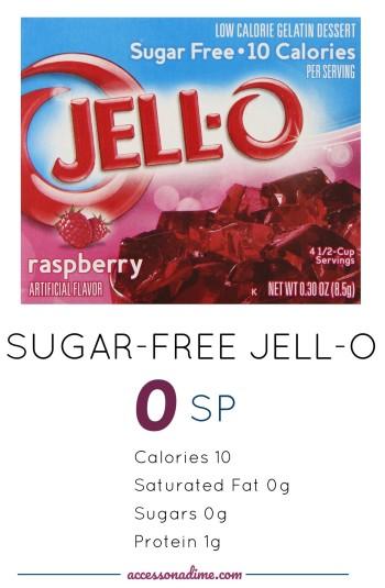 Jell-O Sugar-Free Raspberry Gelatin 0 SP Weight Watchers accessonadime.com