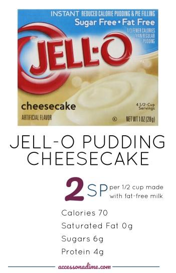 Jello Pudding Cheesecake 2 SP Weight Watchers. accessonadime.com