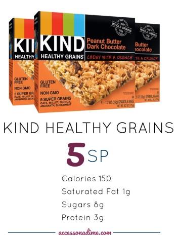 KIND PB Dark Chocolate 5 SP Weight Watchers. accessonadime.com