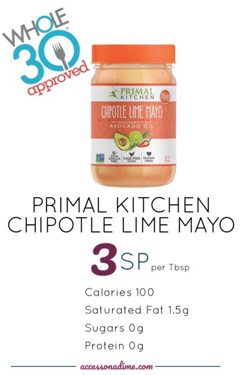 PRIMAL KITCHEN MAYO 3 SP Weight Watchers. Whole 30 Approved. accessonadime.com